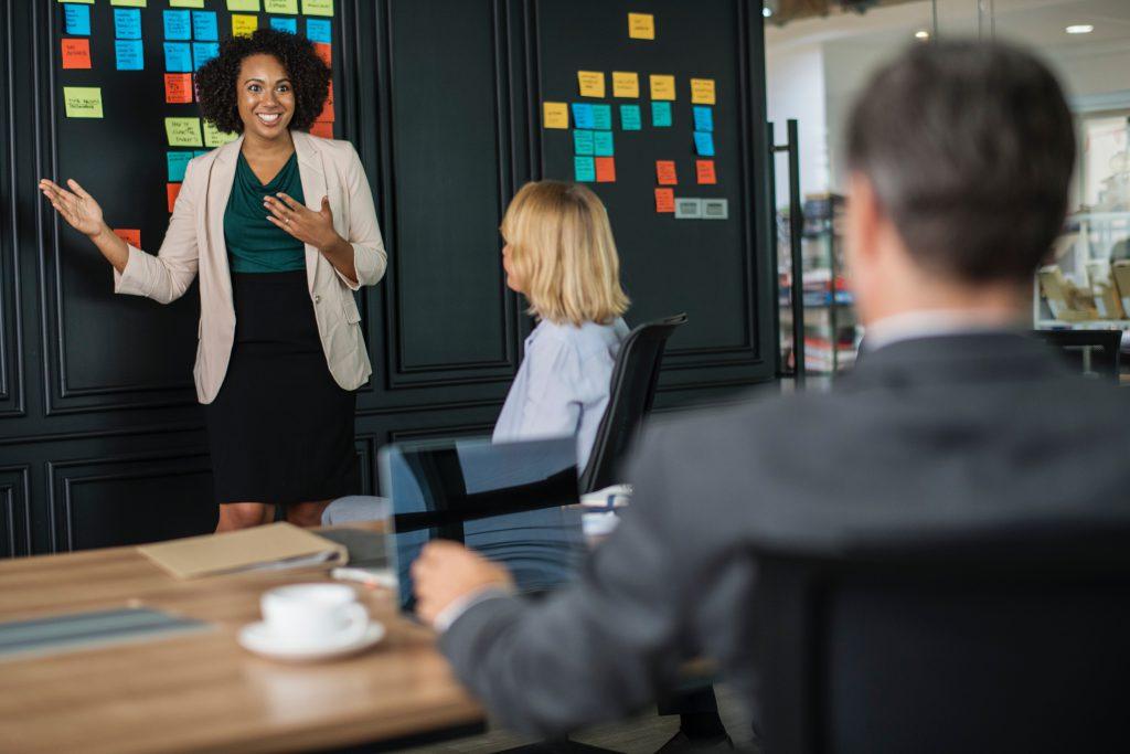 Presenting marketing insights