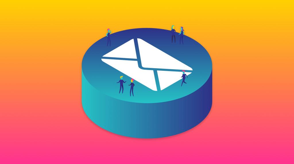 email metrics header